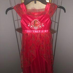 Princess Elena Dress Girls size 4